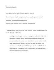 annoted bibliography (3pages)
