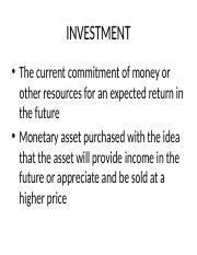 1. Introduction to Investment Management-For Print.pptx