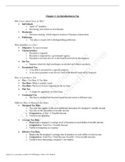 Chapter 1 Notes 2011 - Student