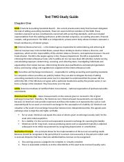 test two study guide - intermediate accounting .docx