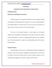 Analysis of Financial Statement-[www.students3k.com].doc