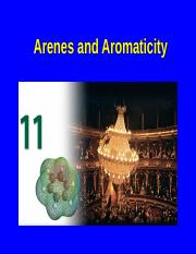 Chapter 11-Arenes and Aromaticity