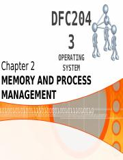 C2_Part1 - Memory And Process Management