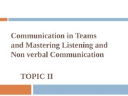 BUSINESS COMMUNICATION TOPIC 2 (2012)