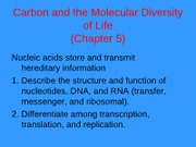 class6(Nucleic Acids)