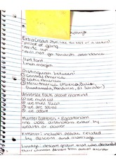 Intro to Class Notes