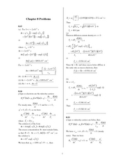 Final Exam Practice Problem Solutions