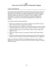 Microsoft diversification strategy case analysis