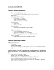 Chapter 25-27 Study Guide