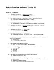 Review Questions - Booch - Chapter 22 Hanson.docx