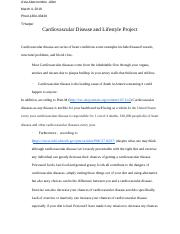 Cardiovascular Disease and Lifestyle Project.docx