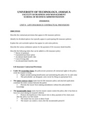 Unit_8b_Life_Insurance_Contracts_Students_Notes