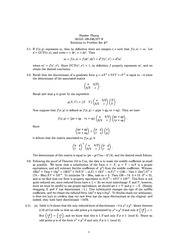 MATH 346 Problem Set 7 Solutions