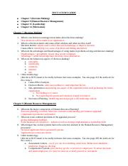 TEST 3 STUDY GUIDE (Bb)