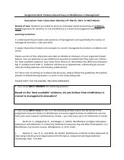 Assignment brief - evidence-based essay.pdf