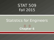 STAT 509 Chapter 6