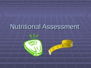 DNutritional Assessment