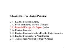 Chapter 25 – The Electric Potential.pdf