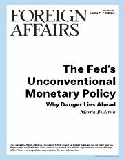 The Fed's Unconventional Policy