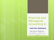 Financial and Managerial Accounting 6