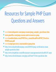 Web_Links_to_Sample_PMP_Exam_Questions[1].ppt