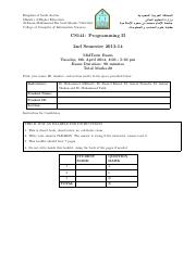 midterm_CS141_Fall2014_solution