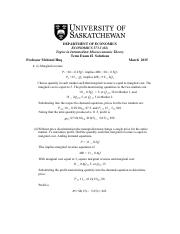 Econ 373 Exam 2 March 12 2015 Solutions.pdf