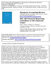 How did Financial Reporting Contribute to the Financial Crisis.pdf