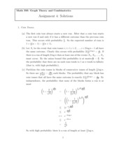 MATH 350 Fall 2012 Homework 4 Solutions
