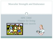 Ch 3 Muscular Strength and Endurance Morris