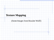 Lecture20-TextureMapping