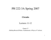 Lecture 11-12 Ch 27