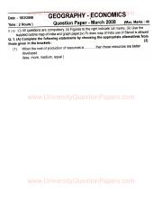 (www.entrance-exam.net)-Maharashtra Board SSC, Geography-Economics Sample Paper 5