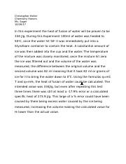 Chemistry Lab Conclusion 1 (specific heat of water).docx