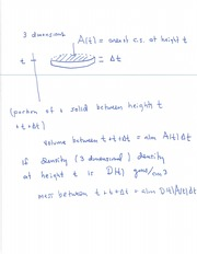Solids volume notes