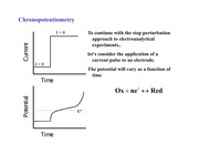 Lecture 12 - Chronopotentiometry