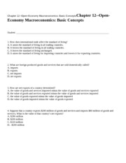 Chapter 12--Open-Economy Ma