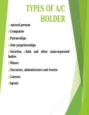 4. Types of account holder.ppt