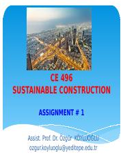 CE-496_Assignment#1
