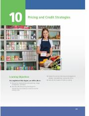 CHAPTER 10 • PRICING AND CREDIT STRATEGIES
