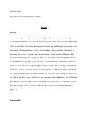 IB Carter- Essay Week 6 - Running head EXPORT BUSINESS PLAN Export ...