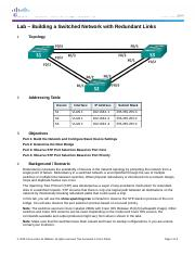 3.1.2.12 Lab - Building a Switched Network with Redundant Links.docx