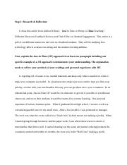EDU 656 Week 1 Discussion 1.docx