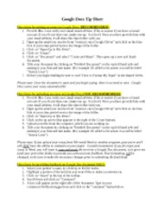 google-docs-tip-sheet
