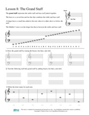 MUSIC 16A_Worksheet_Grand Staff