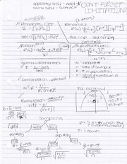 Probabality overview formulas for exam 3