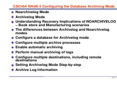 CSC454 WK#8-3 11g Configuring DB Archiving Mode.pdf