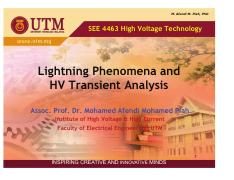 Chapter 3 - Overvoltage (UTM2)