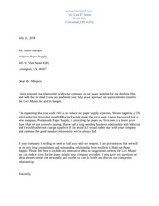 Week 4 Assignment 1 Create A Business Letter