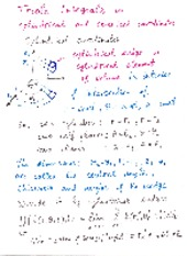 Lecture Notes on Triple Integrals in Cylinder and Spherical Coordinates